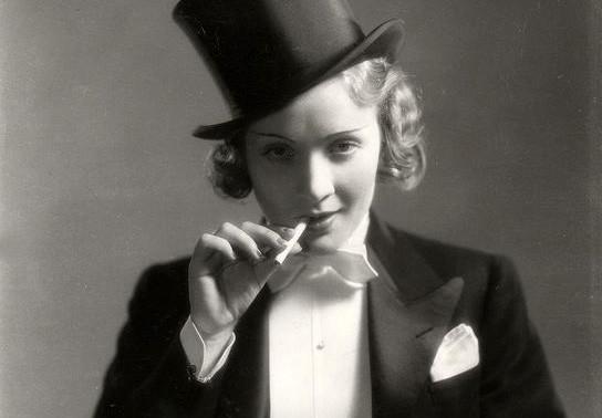 MOROCCO, 1930, Marlene Dietrich, Gary Cooper, Josef von Sternberg, gender  fluidity, classic movie